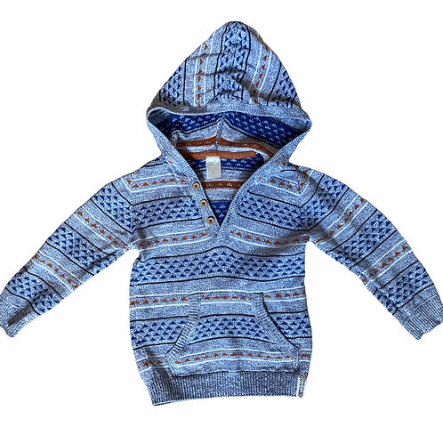 H&M 1.5-2 years Knitted Hoodie