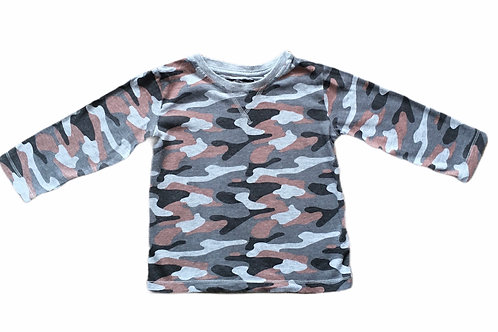 Next 12-18 months Camouflage Long Sleeve Top