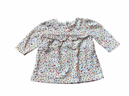 Matalan 0-3 months Floral Long Sleeve Top
