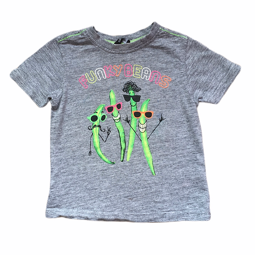 George 2-3 years Grey 'Funny Beans' T-shirt