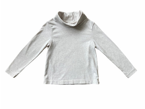 George 3-4 years Cream Roll Neck Top