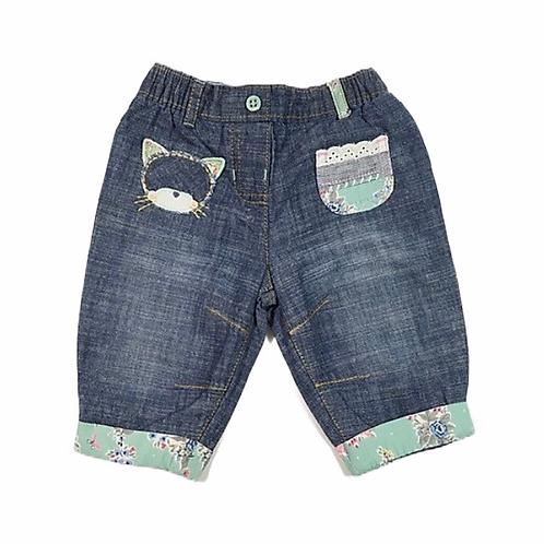 Next 0-3 months Cat Jeans