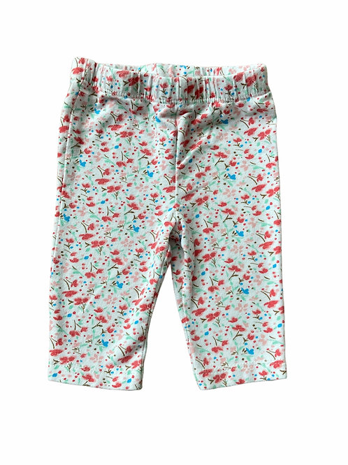 F&F Up to 1 month Floral Leggings