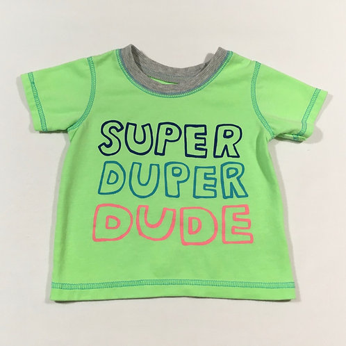 George 6-9 months Super Duper Dude T-shirt