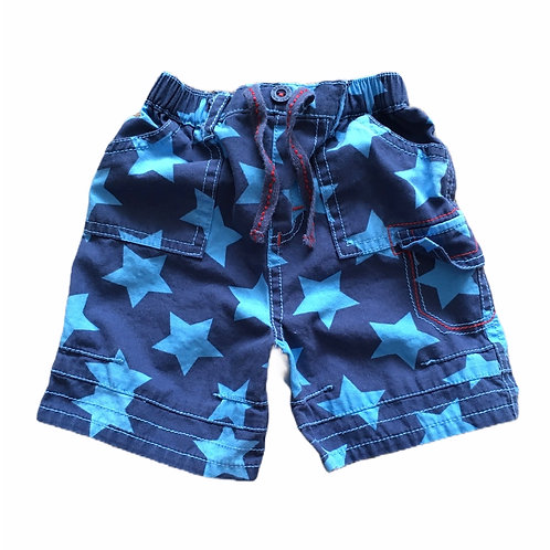 M&Co. 3-6 months Blue Star Shorts