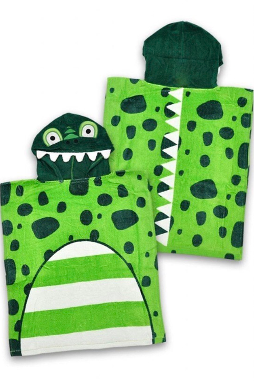 George Dinosaur Hooded Poncho Towel - BRAND NEW