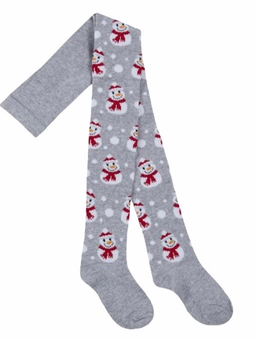 7-8 years Snowman Christmas Tights - BRAND NEW