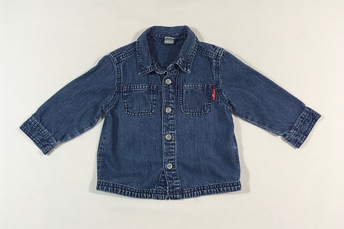 Next 6-9 months Denim Long Sleeve Shirt