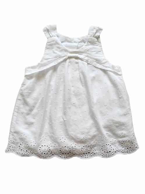 Matalan 9-12 months White Sleeveless Top