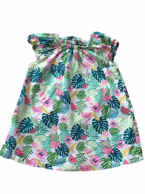 H&M 6-9 months Tropical Dress