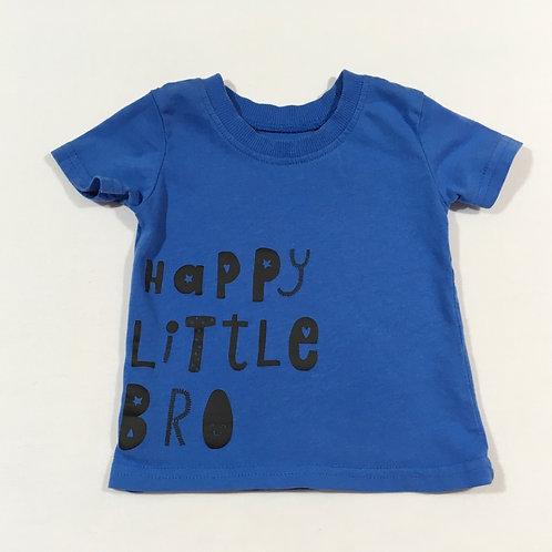 George 0-3 months Happy Little Bro T-shirt