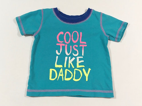 George 6-9 months 'Cool Just Like Daddy' T-shirt