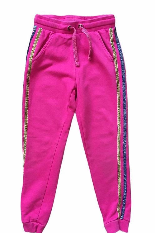 George 7-8 years Pink Joggers - PLAYWEAR