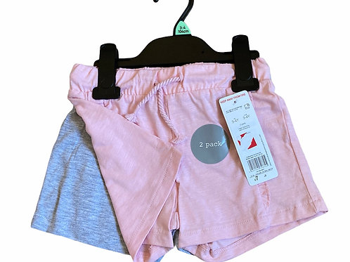 F&F 3-4 years 2 pack of shorts