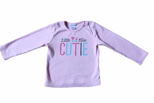 Absorba 24 months 'Little Miss Cutie' Pink Long Sleeve Top