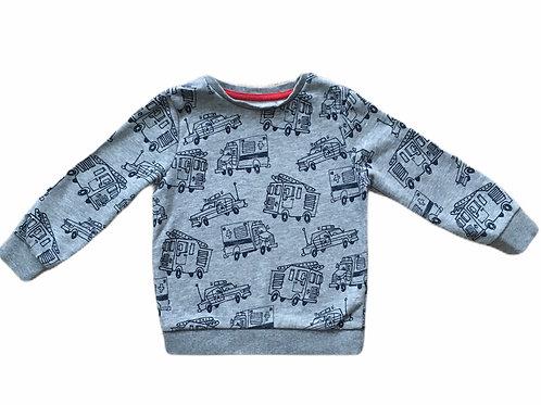 TU 1-1.5 years Grey Emergency Services Sweatshirt