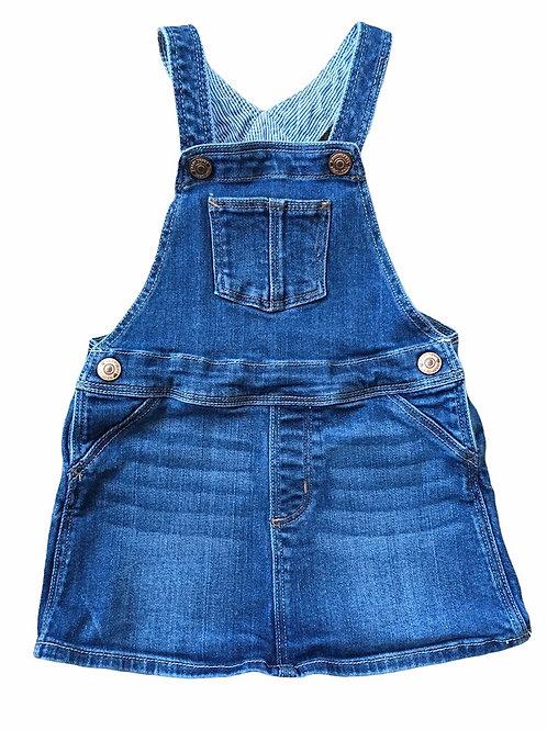 H&M 12-18 months Denim Pinafore Dress