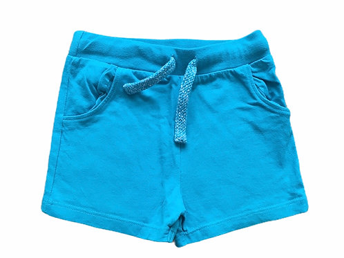 F&F 9-12 months Turquoise Shorts