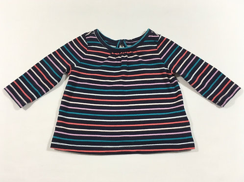 Baby Gap 3-6 months Long Sleeve Striped Top