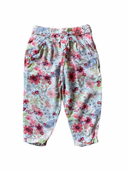 Next 12-18 months Lightweight Floral Trousers