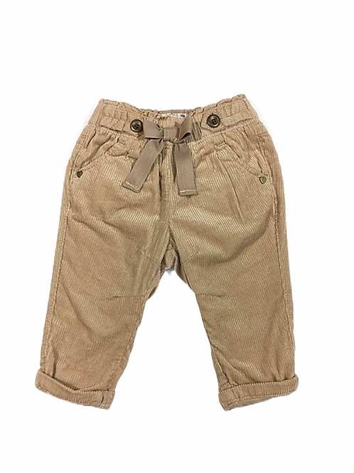 Next 3-6 months Brown Cord Trousers