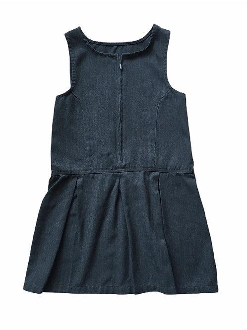 Nutmeg 6-7 years Charcoal Grey School Pinafore Dress