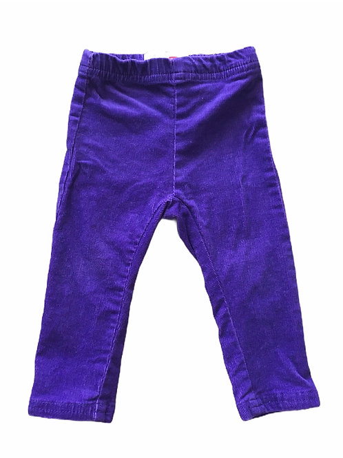 Name It 6-9 months Purple Cord Trousers