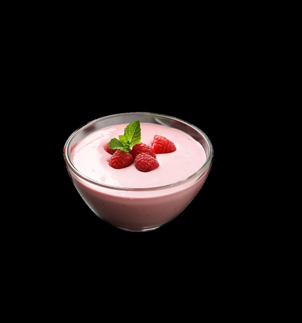 Tasty strawberry mousse filling for a custom cake