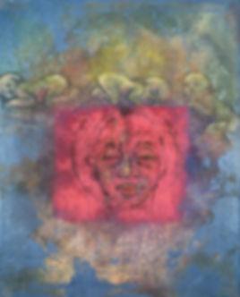 Beate Hanek Malerei – Große Mutter