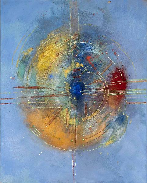 Beate Hanek Malerei – Momentum 03