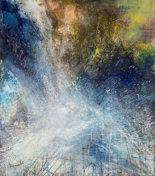 Beate Hanek Malerei – Angst und Gnade
