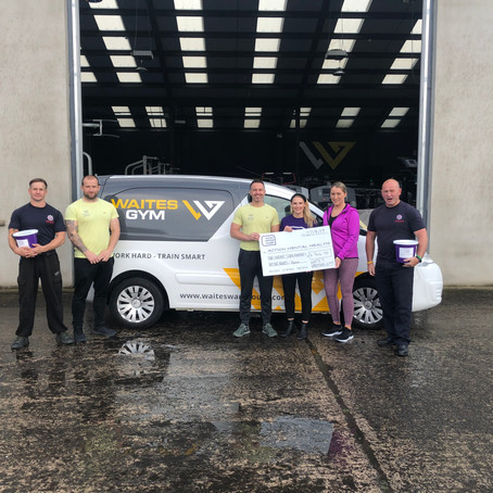 WAITES GYM TACKLES MENTAL HEALTH WITH RECENT CHARITY ENDEAVOUR