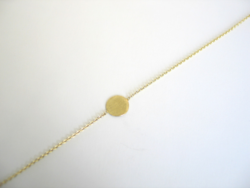 Gelbgold Armband