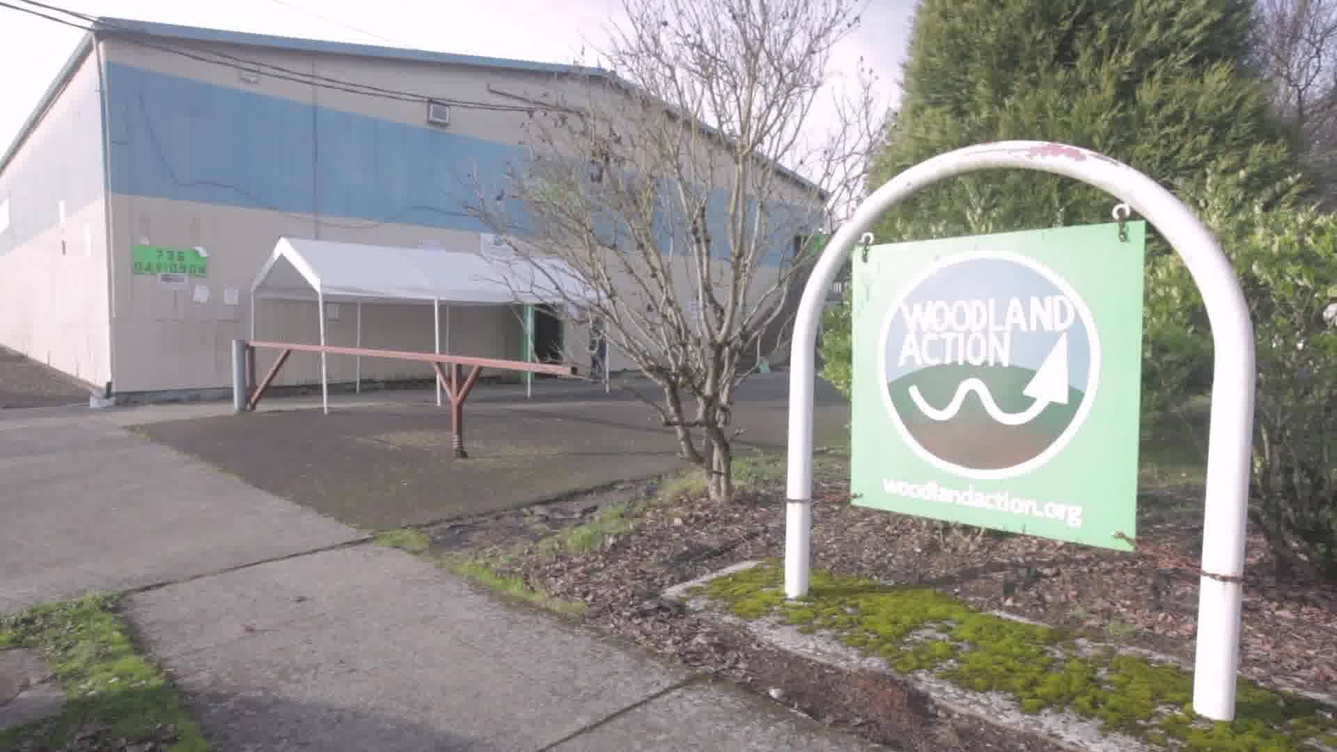 Woodland Action Center Food Bank