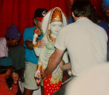 Divine Mother Statue