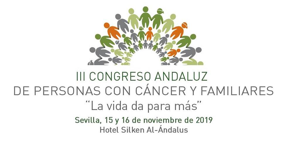 III Congreso Andaluz de Persona con Cáncer y Familiares