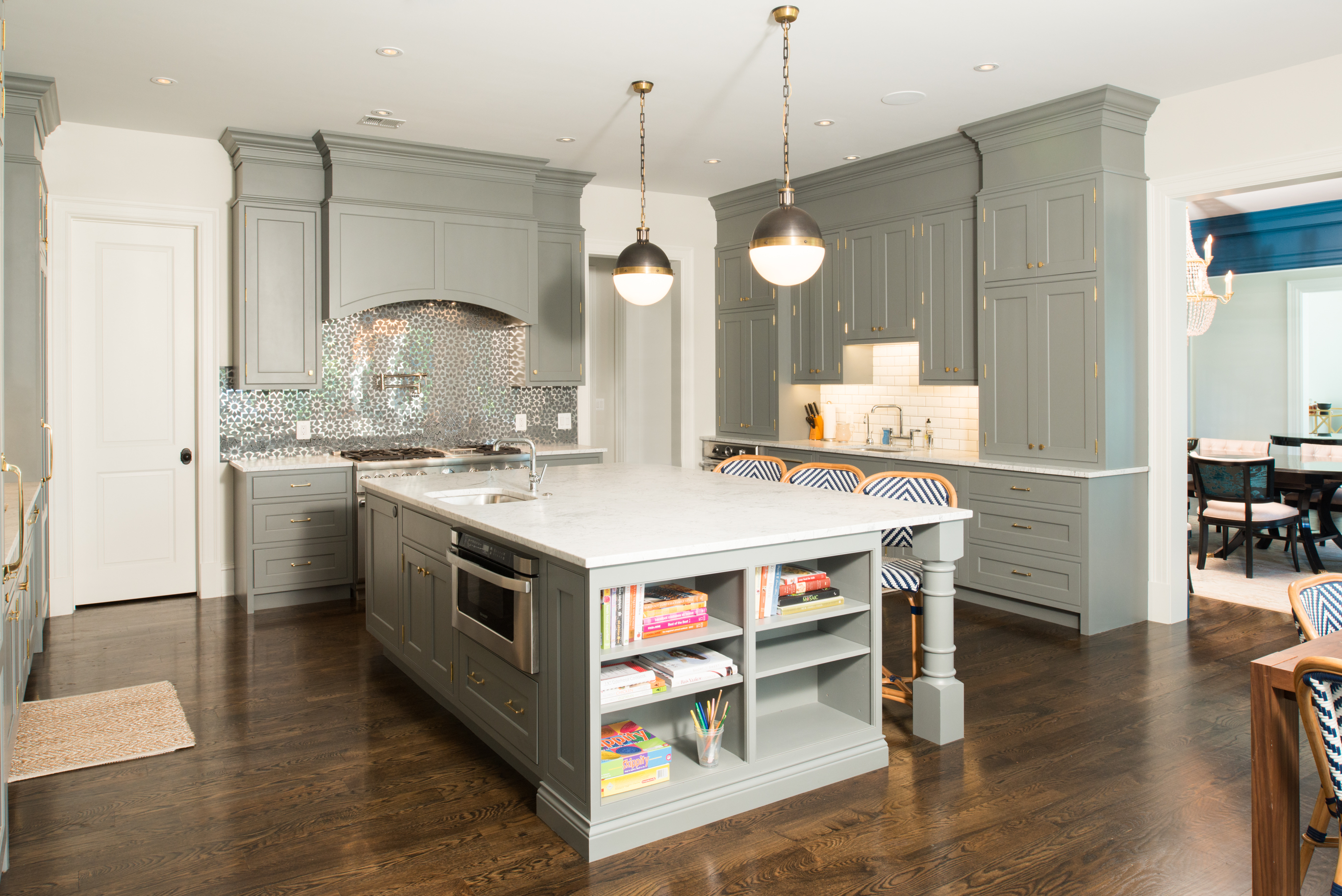 Stonington Road Kitchen Island