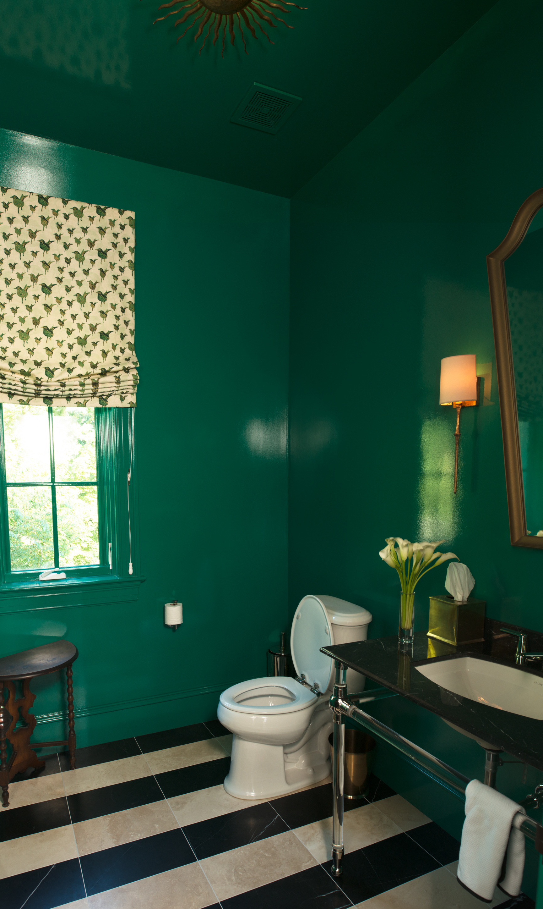 Stonington Road Powder Room