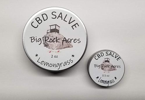 CBD infused Lemongrass Salve