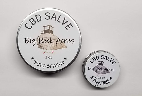 CBD infused Peppermint Salve