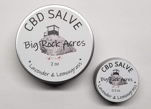 CBD infused Lavender and Lemongrass Salve