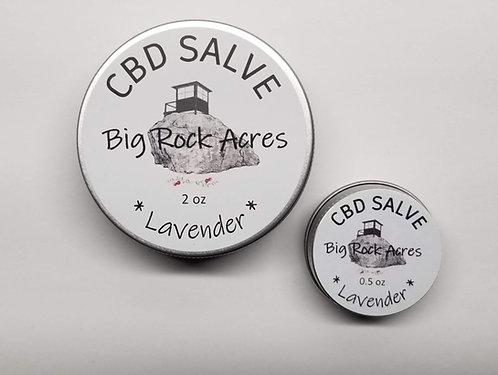 CBD infused Lavender Salve