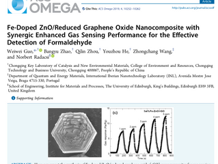 New paper published in ACS Omega!