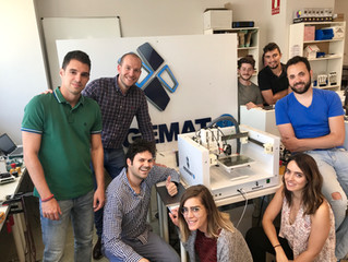 New collaboration with Spain's leading bioprinting company