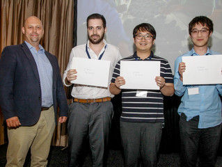 1st and 3rd poster prize won at Electrospin2018 international conference