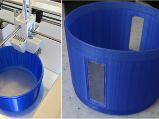 Technical note published on 3D-printed electrospray / electrospinning devices