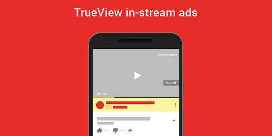 TrueView in-stream