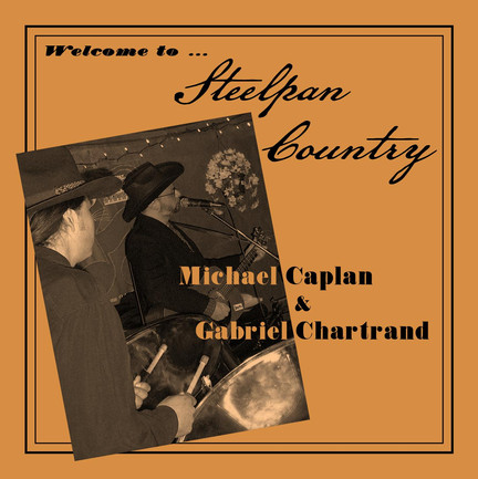 """""""Steelpan Country"""" CD cover"""