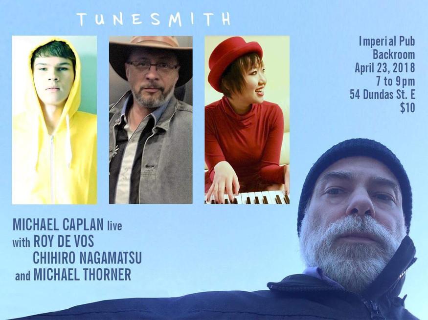 Tunesmith event, 2018