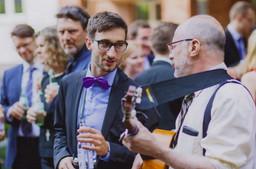 MRC as wedding singer